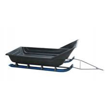 Сани волокуши c трубчатым каркасом на лыжном шасси (с обтекателем)